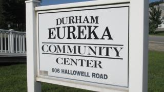 Eureka Community Center Sign