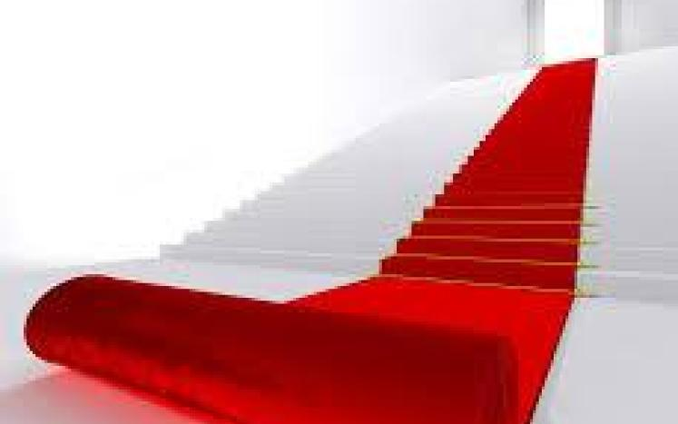 Red Carpet Welcome to the New Website image
